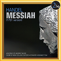 Handel Messiah 1751 version